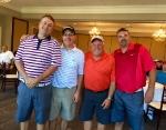 2nd Place Team Carr Supply (Jared Dean, Chris Brandt, Tim Waibel, Scott Smith)